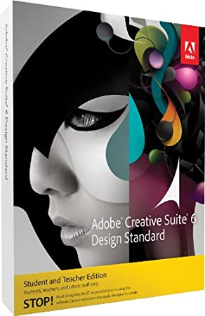 Adobe Creative Suite 6 Design Standard Student and Teacher* MAC