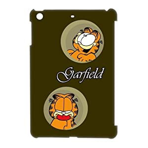 Garfield Cartoon Figure Hard Shell Case for iPad mini, Lovely Garfield Hard Case Cover at casesspecial store