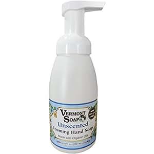 Amazon.com: Vermont Soapworks - Foaming Hand Soap Unscented - 8 fl oz
