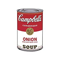 Campbell's Soup I: Onion, 1968Andy Warhol