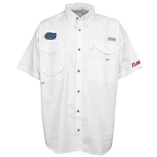 Columbia Men's Collegiate Bonehead Short Sleeve Shirt, FLA - White, Large Columbia T-Shirts autotags B000AYVS0C