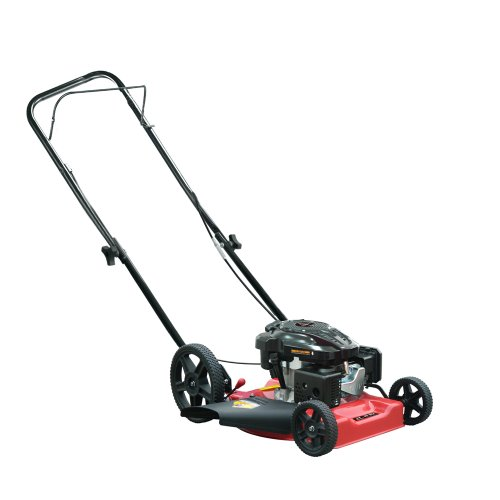 Warrior Tools WR65486 Gas Powered Push Lawn Mower, 21-Inch, Red image