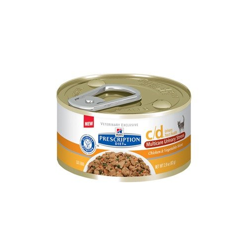 Hill's Prescription Diet C/d Multicare Stress Feline Chicken & Vegetable Stew