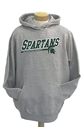 NCAA Mens Michigan State Spartans Zooey Hooded Sweatshirt by CI Sport