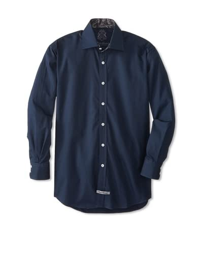 English Laundry Men's Solid Dress Shirt