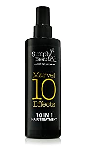 Simply Beautiful Marvel 10 Effects - 10 In 1 Keratin Based Leave-In Hair Treatment - 250ml