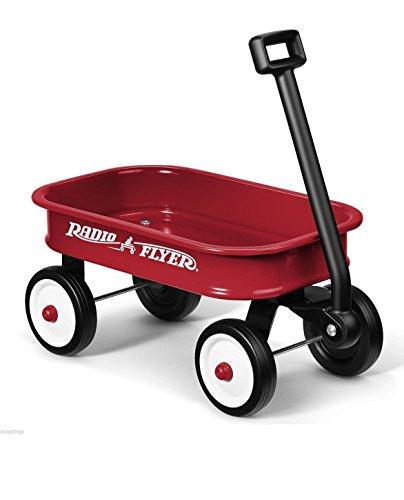 Radio Flyer Little Red Toy Wagon. Kids Gift Present Boy Girl Fun Steel Hauling - B01BYK0EZK