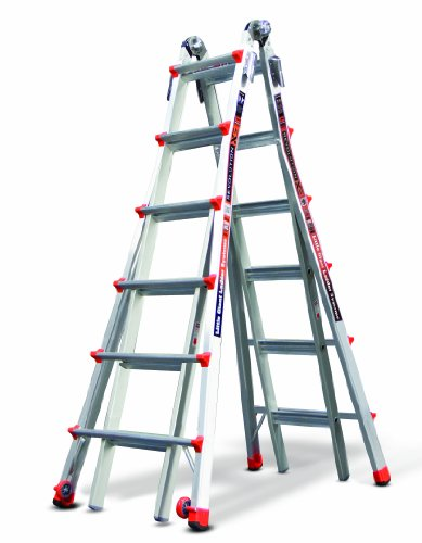 Little Giant Ladder Systems 12026 26-Feet 300-Pound Duty Rating Revolution XE Multi-Use Ladder
