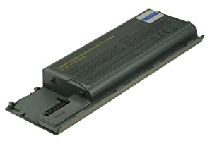 2-Power Compatible Dell Latitude D620 Laptop Battery Pack - 11.1v/4400mAh (Replaces original part number 451-10422)