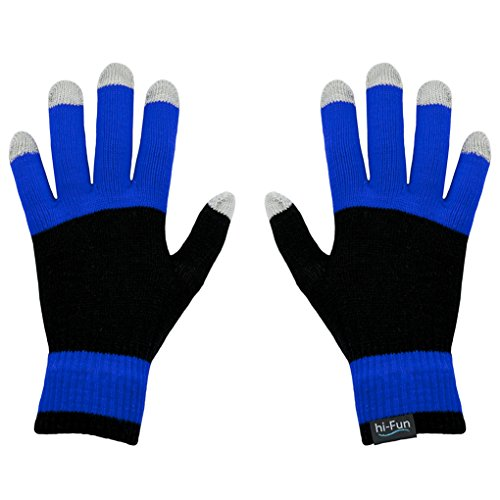 Hi-Glove Touch Screen Glove- Men'S Blue