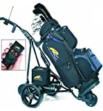 Powakaddy Robokaddy Sport Black Electric Golf Trolley with Air Tyres