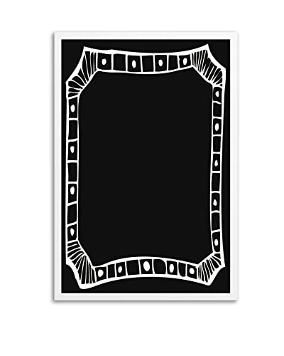 Border I Framed Chalkboard