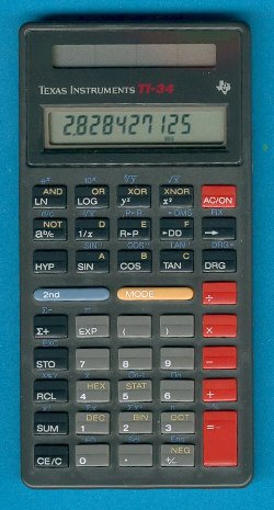 Texas Instruments Ti-34 Calculator