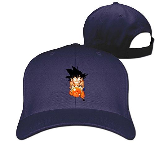 unisex-dragon-ball-z-goku-adjustable-snapback-baseball-hat-navy-one-size