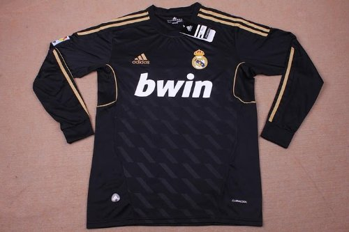 new arrivals a2a61 cfa93 Best BRAND NEW REAL MADRID 2011 / 2012 LONG SLEEVE AWAY ...