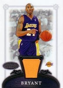 2006 / 07 Bowman Sterling #10 Kobe Bryant Game Worn Jersey Basketball Card