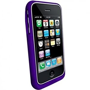 mophie juice pack air case and battery for iPhone 3G, 3G S (Purple)