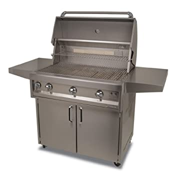 Artisan Grills ART-36C-LP 75000 BTU Cart/Portable Model Propane Grill/BBQ with Rotisserie and Lights, 36-Inch sale off 2015