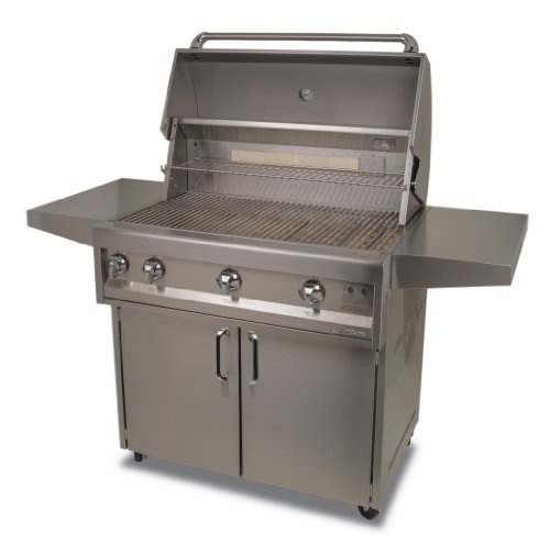 Artisan Grills Art-36C-Lp 75000 Btu Cart/Portable Model Propane Grill/Bbq With Rotisserie And Lights, 36-Inch
