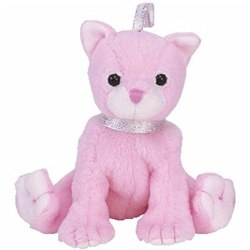 TY Basket Beanie Baby - CARNATION the Cat - 1