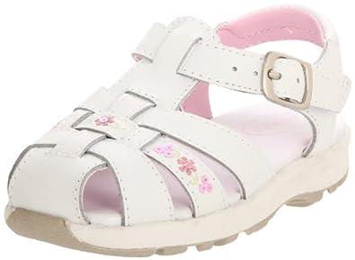 Stride Rite Cozumel Sandal (Toddler/Little Kid),White,8.5 XW US Toddler