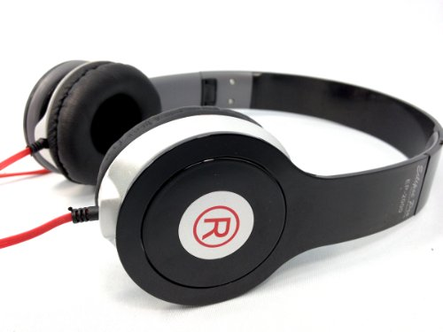 Black - Studio Styled Dolby Sound Stereo Foldable Headphones By Eclipse