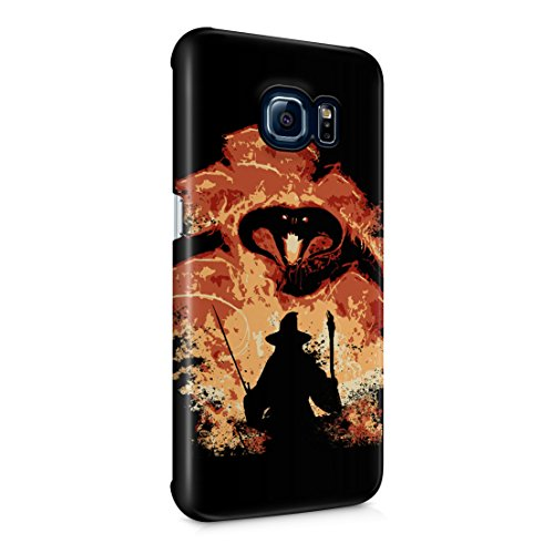 Lord Of The Rings Balrog Cs Gandalf Samsung Galaxy S6 EDGE Hard Plastic Phone Case Cover