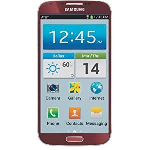 Samsung Galaxy S4, Red (AT&T)