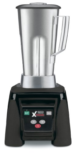 Waring Commercial Mx1050Xts Xtreme Hi-Power Electronic Keypad Blender With Stainless Steel Container, 64-Ounce