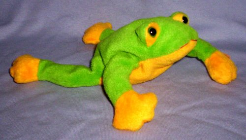 TY Beanie Baby - SMOOCHY the Frog - 1