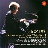 モーツァルト:ピアノ協奏曲第20番&第23番,2台のピアノのためのソナタ