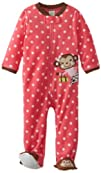 Little Me Baby-girls Infant Monkey Bl…