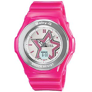 Casio Baby-G Pink Ladies Watch BGA103-4BDR