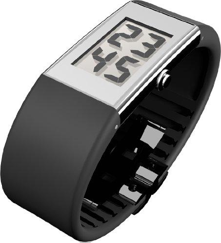 Rosendahl Watch II - Reloj digital de mujer de cuarzo con correa de goma negra - sumergible a 30 metros