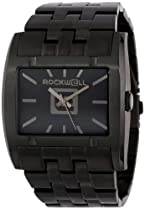 Rockwell Time Unisex AP110 Apostle Black-Plated Stainless Steel Watch