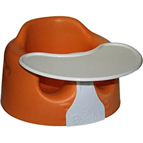 Bumbo Baby Sitter and Tray Combo - Orange