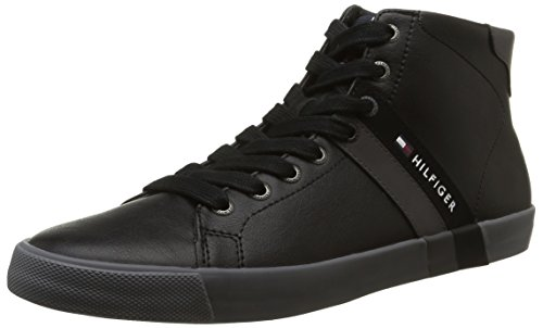 Tommy Hilfiger Volley 6A, Sneaker, Uomo, Nero (990), 43