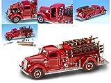 1938 Mack Type 75 Fire Truck 1/24 Red