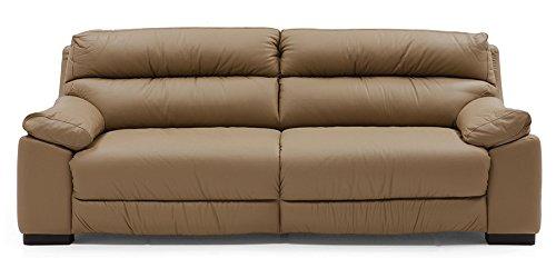 Leatherette Sofa Set, Brown