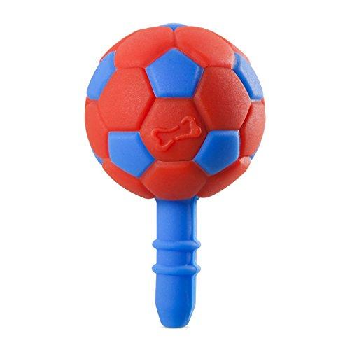 Bone Collection Football-Ear, Auricolari, Jack per cuffie e pellicola protettiva, colore: rosso