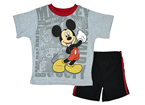 Alfa Global Baby Boy'S Infant Mickey And Friends Short 2Psc Set 12 Months front-502201