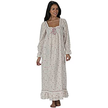 The 1 for U Martha Nightgown 100% Cotton Victorian Style - Sizes XS - 3X …