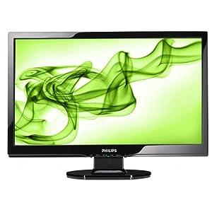 Philips 220E1SB 22 Zoll (21,6 Zoll) TFT Monitor schwarz, VGA (Kontrast dyn. 8.000:1, 5 Ms Reaktionszeit)