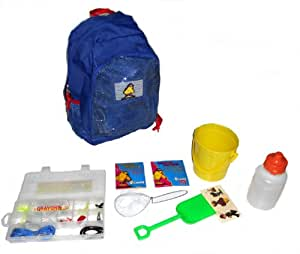 Captain anglers kids adventure fishing for Fishing backpack amazon