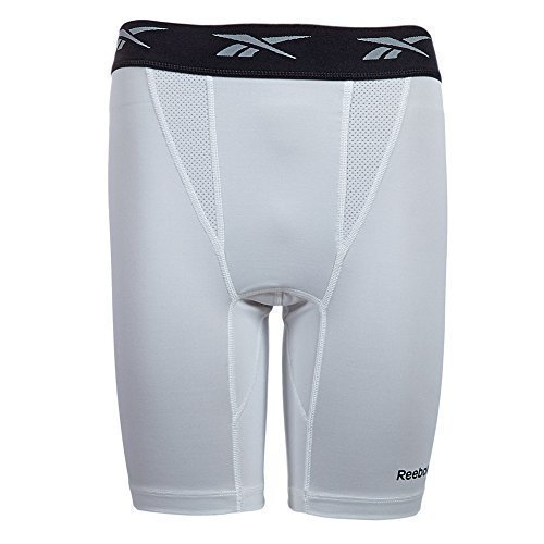 Reebok Competition Collant Pantaloni Da Ciclismo K41563 - bianco, XXL