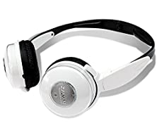 buy Zalman Zm-Ds4F 2-Way 4 Speaker Foldable Earcup Dual Stereo Headphones W/3.5Mm Jack (White) - 2 Diaphragms Per Channel!