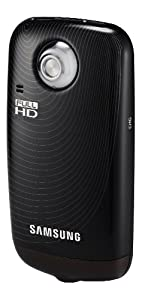 Samsung HMX-E10 1080P Pocket Camcorder with 270-Degree Swivel Lens (Black)