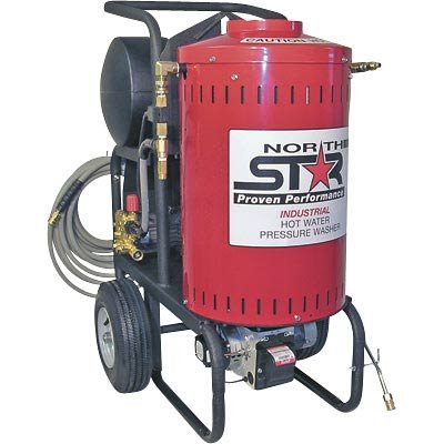 NorthStar Electric Wet Steam & Hot Water Pressure Washer - 1700 PSI, 1.5 GPM, 120 Volt