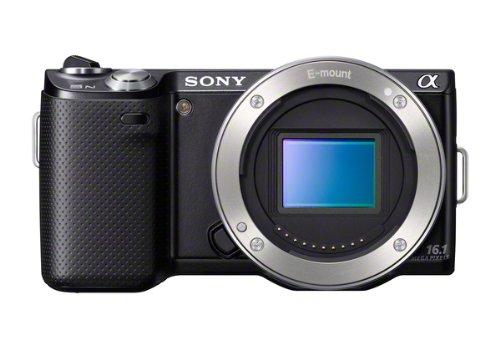 Sony NEX5N Interchangeable Body Only Lens Camera - Black