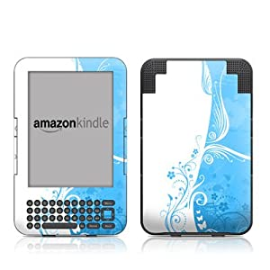 Kindle Keyboard Skin Blue